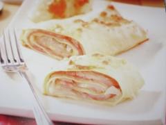 Ricetta cannelloni con finocchi, prosciutto cotto ed emmentaler