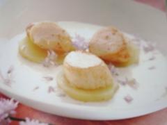 Ricetta capesante con salsa di panna