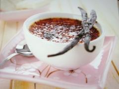 Ricetta crème brulée al cioccolato