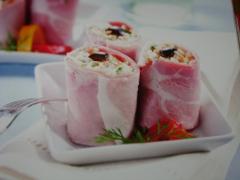 Ricetta involtini di prosciutto cotto e insalata capricciosa