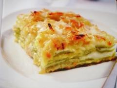 Ricetta lasagne di porri e asiago