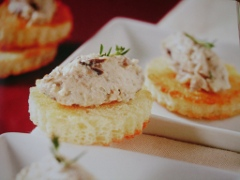 Ricetta bruschette con crema di melanzane e robiola