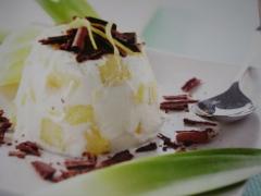 Ricetta del budino con ricotta ed ananas