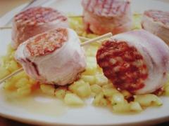 Ricetta del filetto di maiale in tartara d'ananas