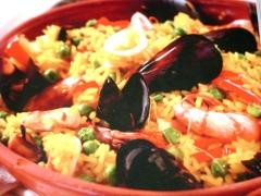 Ricetta paella con pesce