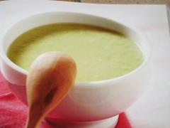 Ricetta primo crema di asparagi e topinambur