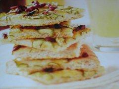 ricetta-facile-e-veloce-focaccia-allo-zafferano-con-zucchine