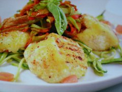 ricetta-facile-e-veloce-mozzarella-in-carrozza-con-fiori-di-zucca-e-zucchine