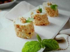 ricetta-facile-e-veloce- tronchetti-di-formaggio-alle-erbe-e-nocciole