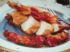 ricetta-facile-e-veloce-pollo-con-peperoni