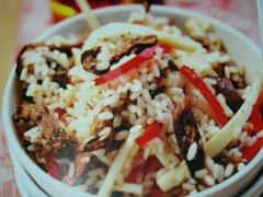 ricetta-facile-e-veloce-insalata-di-riso-con-cuori-di-palma-melanzane-e-peperoni