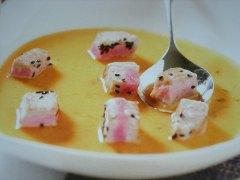 ricetta-facile-e-veloce-zuppa-di-pomodori-al-timo-e-tonno