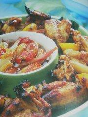 ricetta-facile-e-veloce-ali-di-pollo-caramellate-con-chutney