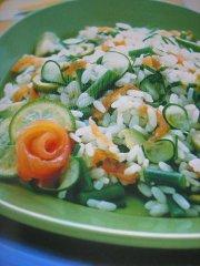 ricetta-facile-e-veloce-insalata-di-riso-verde-e-rosa