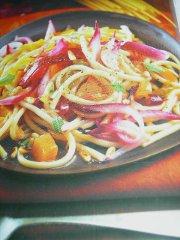 ricetta-facile-e-veloce-bucatini-con-zucca-e-cipolla