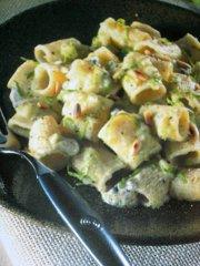 ricetta-facile-e-veloce-Mezze-maniche-con-gorgonzola