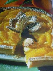 ricetta facile e veloce crostata di arance caramellate