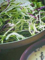 ricetta facile e veloce insalata di verza e cavolo cappuccio