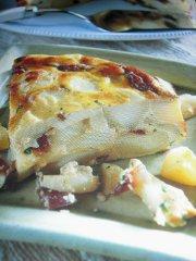ricetta facile e veloce tortino di patate al timo