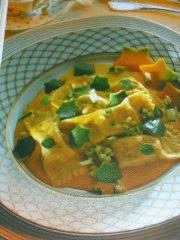 ricetta facile e veloce Ravioli in salsa dorata