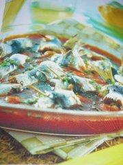 ricetta facile e veloce involtini di sarde in salsa