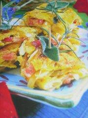 Ricetta quadrotti di frittata con pancetta