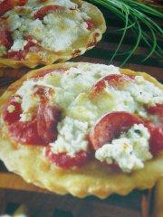 ricetta facile e veloce Tartellette di pizza