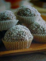 ricetta facile e veloce bonbon al cocco e cioccolato