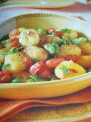 ricetta facile e veloce gnocchi alle verdure