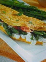 ricetta facile e veloce omelette ripiena