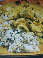 ricetta facile e veloce pollo e riso speziati
