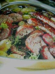 ricetta facile e veloce padellata di salamelle al finocchietto