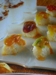 ricetta facile e veloce palline di riso dolce alla frutta