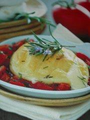 ricetta facile e veloce tomini con pomodoro al rosmarino