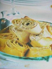 ricetta facile e veloce torre di pasta con carciofi