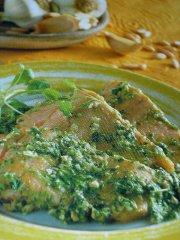ricetta facile e veloce trota salmonata alla rucola