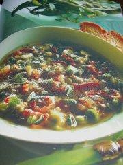 ricetta facile e veloce zuppa di fave e pecorino
