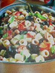 ricetta facile e veloce tubetti con fagioli