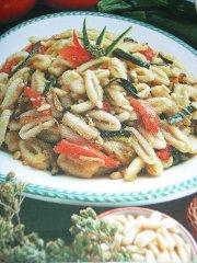 ricetta facile e veloce cavatelli alle verdure