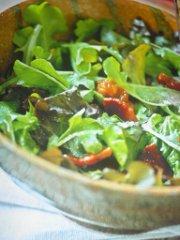 ricetta facile e veloce insalata verde con il lardo