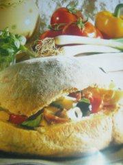 ricetta facile e veloce pan bagnat
