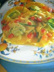 ricetta facile e veloce ravioli di magro all'uvetta