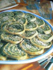 ricetta facile e veloce rotolo di spinaci all'emiliana