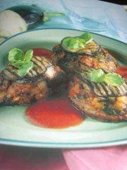 ricetta facile e veloce timballini di melanzane