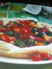 ricetta facile e veloce tortino di platessa con zucchine e peperoni
