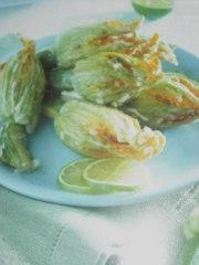 ricetta facile e veloce fiori di zucchina ripieni