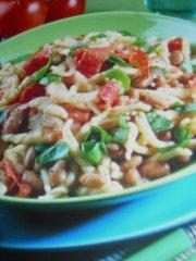 ricetta facile e veloce pasta e fagioli al pomodoro