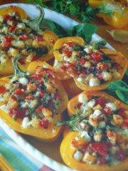 ricetta facile e veloce peperoni rustici