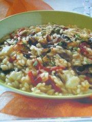 ricetta facile e veloce risotto affumicato con verdure arrosto