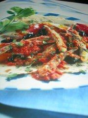 ricetta facile e veloce sardine in umido agli aromi